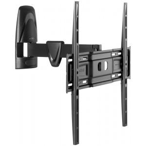 Кронштейн для телевизора Meliconi Stile Rotation R400 Black наклонно-поворотный