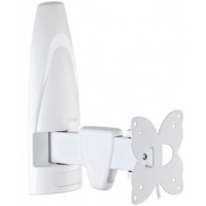 Кронштейн для телевизора Meliconi Stile Rotation R100 White наклонно-поворотный