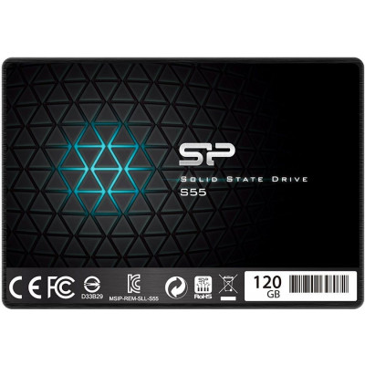 Диск SSD 120 ГБ Silicon Power Slim S55