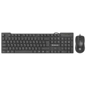 Проводной набор Defender York C-777 RU, мышь + клавиатура